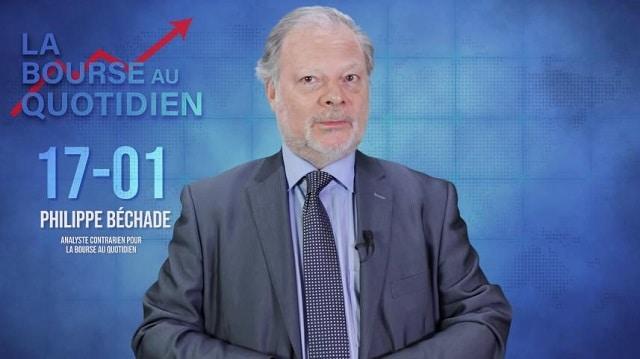 """Philippe Béchade – Séance du Mercredi 17/01/20: """"Les marchés sont vraiment impayables dans tous les sens du terme !"""""""