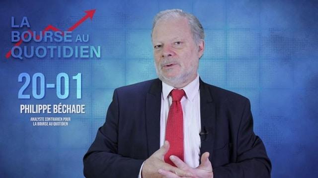 """Philippe Béchade – Séance du Lundi 20 Janvier 2020: """"Le forum de Davos à coups de matraque !"""""""