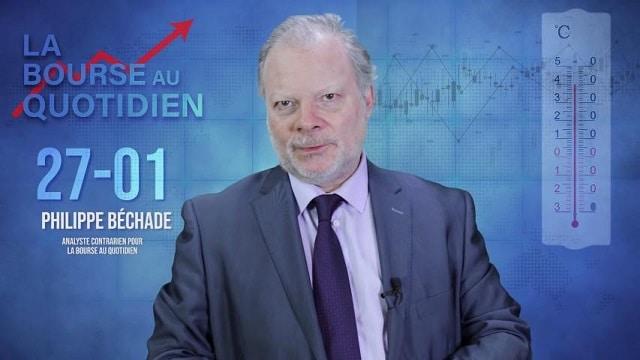 """Philippe Béchade – Séance du Lundi 27 Janvier 2020: """"La hausse se grippe mais c"""