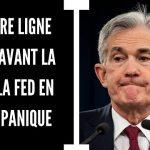 Dernière ligne droite avant la crise financière ! La FED en pleine panique !!