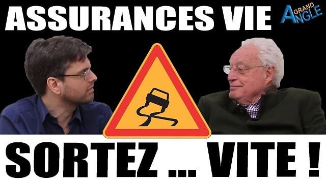 """ALERTE ! Charles Gave: """"Retirez votre argent maintenant ! Les assurances vie en euros sont condamnées !!"""""""