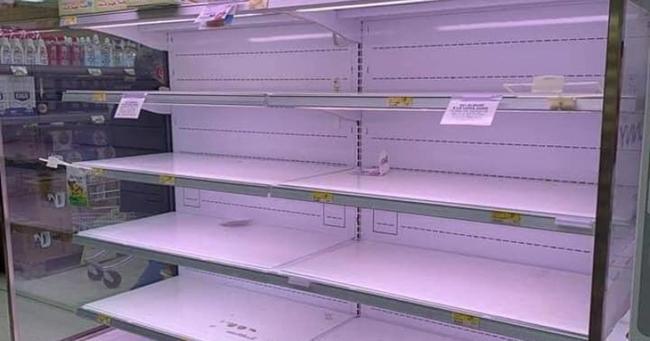 Italie: Panique totale – Les rayons des magasins sont vides, le virus se propage partout – Nourriture et masques en rupture de stock !