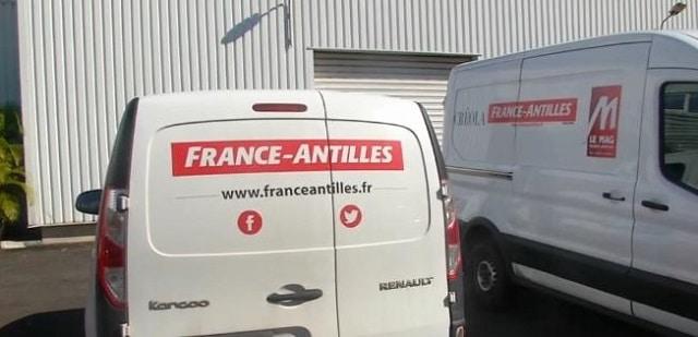 """La fin du journal """"France-Antilles"""". Ce dernier a été placé en liquidation judiciaire !!"""