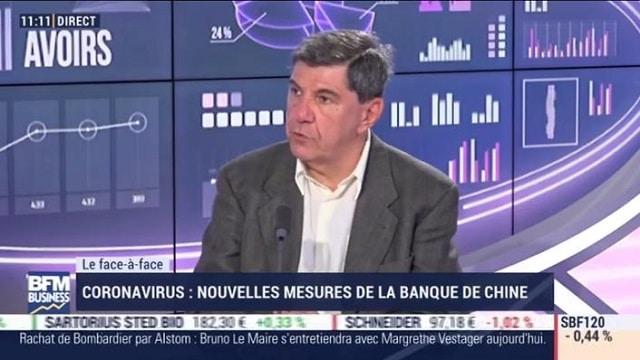 """Jacques Sapir: """"Sur les médicaments produits en Chine,... Là, il commence à y avoir de réelles inquiétudes !"""""""