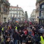 Montpellier: Les médias mainstream n'en parlent pas mais plusieurs milliers de français sont toujours dans la rue !