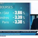 Coronavirus: les bourses plongent, le CAC 40 a perdu 4%. Faut-il paniquer ?