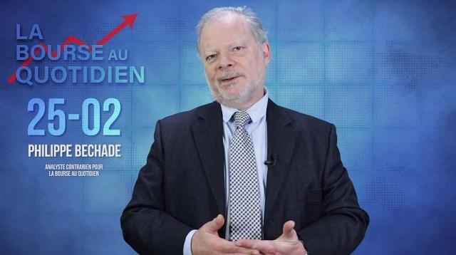 """Philippe Béchade – Séance du Mardi 25 Février 2020: """"Les marchés au bord du précipice, mais toujours prêts à..."""""""