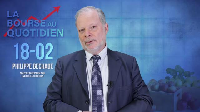 """Philippe Béchade – Séance du Mardi 18 Février 2020: """"Ceux qui ont entassé des pommes vont commencer à avoir des pépins…"""""""