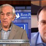 """Ron Paul: """"Nous sommes à l'aube d'une gigantesque crise financière – La Fed et sa planche à billets sont les premiers responsables"""""""