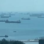 Des pétroliers à perte de vue ! Le coronavirus provoque des embouteillages monstres de tankers sur la côte asiatique !