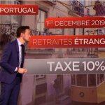 Aïe ! Le gouvernement portugais a décidé d'imposer une taxe de 10% sur les revenus des retraités étrangers