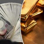 En dollar, le Yen s'effondre littéralement face à l'Or !