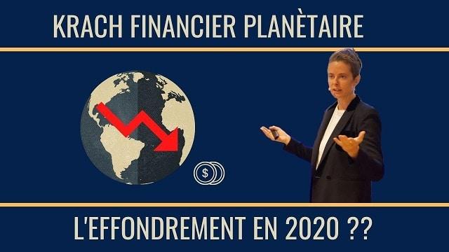 Krach financier planétaire: Comment se préparer à l