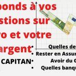Epargne: Assurance vie, euro en danger ? Je réponds à toutes vos angoisses sur votre patrimoine !