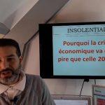 Charles Sannat: «Pourquoi la crise économique sera bien pire que celle de 2008 ? Eh bien, je vais tout vous dire…»