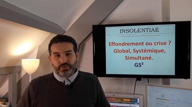 """Charles Sannat: """"Effondrement ou crise Globale Systémique Simultanée ? L"""