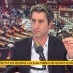 """François Ruffin: Emmanuel Macron """"ne va pas dissoudre l'Assemblée nationale, car il prendrait une déculottée !"""""""