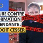 Denis Robert: «CENSURE Contre L'INFORMATION Indépendante: Pourquoi ? CELA DOIT CESSER !»