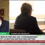 """Olivier Delamarche: """"Le refus des Coronabonds par l'Allemagne montre que l'UE n'existe pas, et est une vaste blague !"""""""