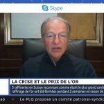 """Pierre Lassonde: """"Avec tous les programmes monétaires qui ont été annoncés, je prévois un cours de l'or beaucoup plus élevé dans les 6 à 12 prochains mois !"""""""