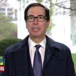 Le Secrétaire du Trésor américain, Steve Mnuchin, considère que les américains peuvent vivre avec 1200$ pendant 10 semaines
