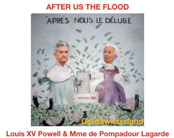 Système financier en faillite, Economie mondiale extrêmement fragile + Covid-19, la Fed et la BCE sont totalement perdues