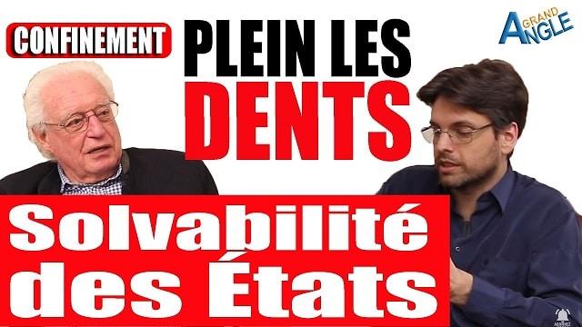 """Charles Gave: Défaut des États et faillite des banques: """"Vous allez en prendre plein les dents !"""""""