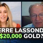 Voir le cours de l'or s'envoler à plus de 20 000$ l'once d'ici 2 à 5 ans n'a rien d'absurde selon Pierre Lassonde, si l'on se réfère au Ratio Dow/or