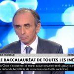 """Eric Zemmour: Baccalauréat 2020: """"Soyons francs, on sait bien qu'un 15/20 à Bobigny, ça vaut un 5/20 à Henri IV, tout le monde le sait !!"""""""