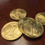 """Il est toujours extrêmement difficile de trouver des pièces en Or. La prime sur chaque pièce d'or d'une Once est d'environ 135$"""""""