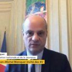 """Jean-Michel Blanquer: Le retour à l'école ne sera """"pas obligatoire le 11 mai"""" !"""