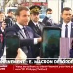 Superbe Bain de foule pour Macron en visite à Pantin. Des images désastreuses pour sa communication en pleine crise du covid-19 !