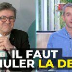 """Jean-Luc Mélenchon: """"Il faut annuler la dette pour redonner aux états de la respiration !… Là, personne ne sauvera l'humanité du bazar qui s'annonce !!"""""""