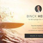 Nicolas Chéron – Binck Hebdo du Mardi 21 Avril 2020: «N'oubliez pas les stops !»