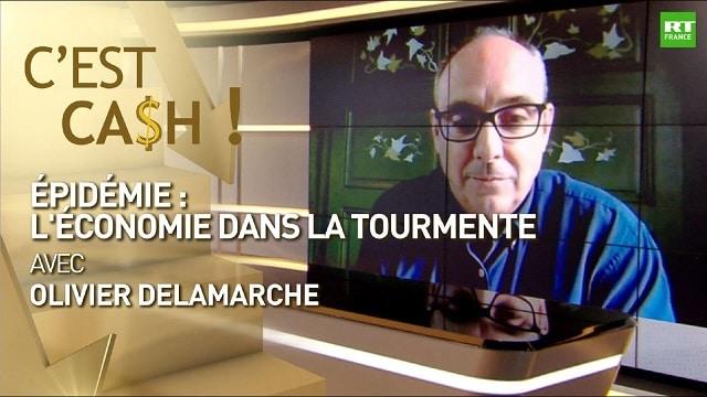 """Olivier Delamarche - COVID-19: """"On va être dans une récession MONUMENTALE ! Ce sera HORS NORME et ça va être un CAUCHEMAR !!"""