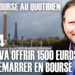 Philippe Béchade – Séance du Mercredi 1er Avril 2020: «L'état va offrir 1500 euros pour démarrer en bourse…»