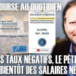 """Philippe Béchade – Séance du Mardi 21 Avril 2020: """"Après les taux négatifs, le pétrole négatif,… bientôt des salaires négatifs ?"""""""
