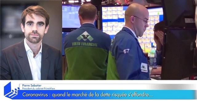 Coronavirus: Cet effet domino sur les marchés obligataire qui fait peur... Avec Pierre Sabatier !