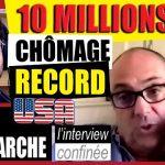 """Olivier Delamarche: """"Avec 10 millions de chômeurs aux USA en 15 jours, et une planche à billets qui tourne à vau-l'eau, croyez-moi, la crise ne fait que commencer…"""""""