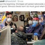 Peter Schiff: «Des pénuries vont se répandre dans toute l'Amérique ! A quoi peuvent servir les chèques du gouvernement dans ce cas là ?»