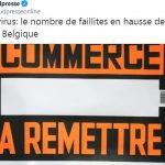 Coronavirus: le nombre de faillites en hausse de 8% en 2020 en Belgique