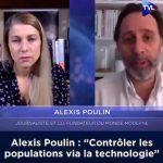 """Alexis Poulin: """"Contrôler davantage les populations via la technologie… cette techno-surveillance est très violente, elle fait entrer la réduction de l'espace privé"""""""