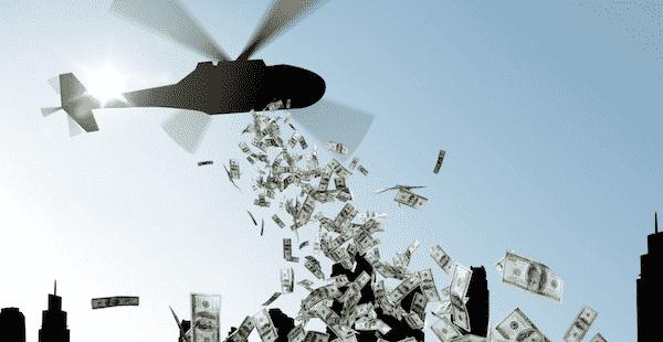 La FED et la BCE se tiennent prêtes à jeter de l'argent par hélicoptère