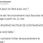 """Laurent Alexandre: """"Comment peut-on être aussi C… ? La ministre de l'environnement veut favoriser le Covoiturage à partir du 11 mai…"""""""