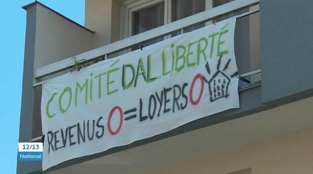 Crise sociale: un immeuble de Seine-Saint-Denis fait la grève des loyers