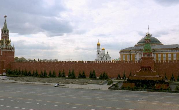 Confinement: en Russie, la place Rouge a perdu ses milliers de visiteurs