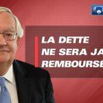 """Patrick Artus: """"On s'inquiète pour rien…. la DETTE ne sera JAMAIS REMBOURSÉE !""""… Ben voyons…"""
