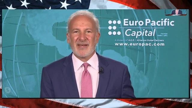 """Peter Schiff: """"La Spirale inflationniste débarque ! Ce sera pire que dans les années 30... Rien ne sera plus jamais pareil ! L'or finira par remplacer le dollar américain !!"""""""