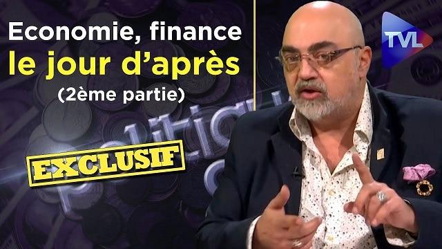 Economie, finance, le jour d'après avec Pierre Jovanovic (2ème partie) - Tvlibertés