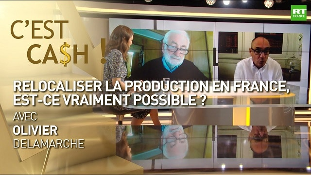 Relocaliser la production en France, est-ce vraiment possible ?... Réponse avec Olivier Delamarche dans C